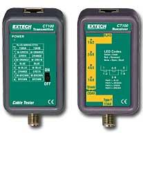 Network Cable Testers เครื่องทดสอบสายสัญญาณ CT100
