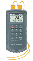 421502: Type J/K, Dual Input Thermometer with Alarm