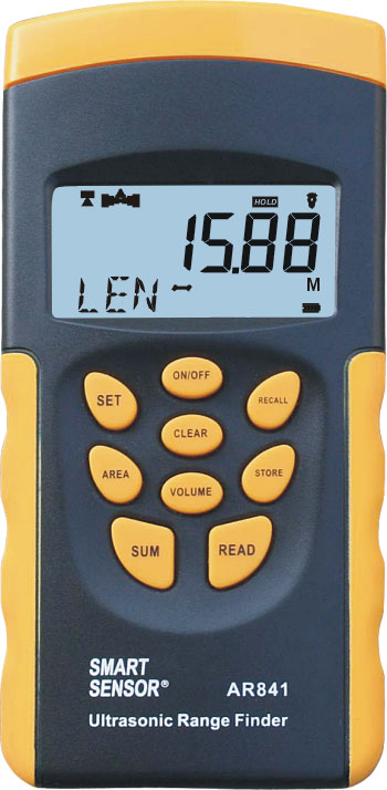 Distance Meter เครื่่องวัดระยะ เครื่องวัดพื้นที่ ปริมาตร AR841