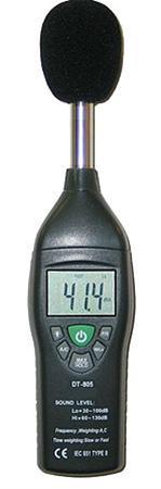 Professional Sound Level Meter เครื่องวัดเสียง DT-805