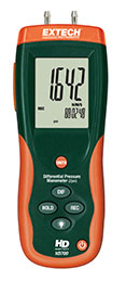 เครื่องวัดความดันต่าง Differential Pressure Manometer HD700