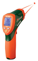 Dual Laser InfraRed Thermometer เทอร์โมมิเตอร์ 42512 EXTECH