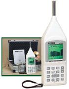 เครื่องวัดเสียง Real time Octave Band Analyzer 407790