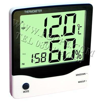 Thermometer เทอร์โมมิเตอร์ เครื่องวัดอุณหภูมิ 2 จุด และความชื้น