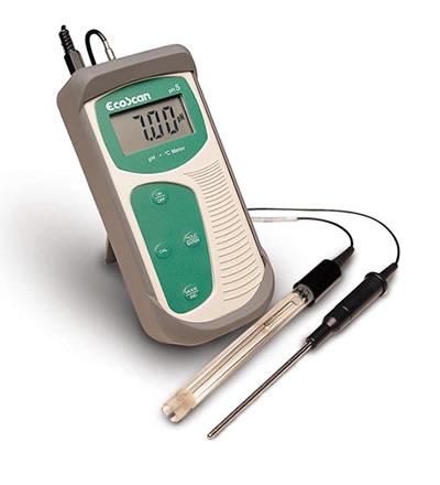 เครื่องวัดกรด ด่าง PH meter รุ่น EcoScan pH5