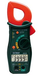 38389: 600A True RMS AC/DC Clamp Meter