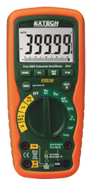 Heavy Duty True RMS Industrial MultiMeter EX530