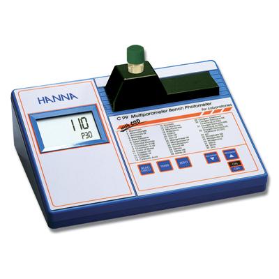 เครื่องวัดค่า COD สำหรับวิเคราะห์น้ำและน้ำเสีย HI83099