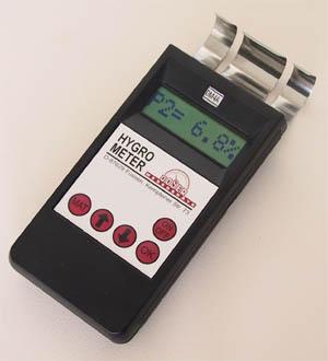DM4A เครื่องวัดความชื้นกระดาษ ไม้ คอนกรีต Universal Moisture