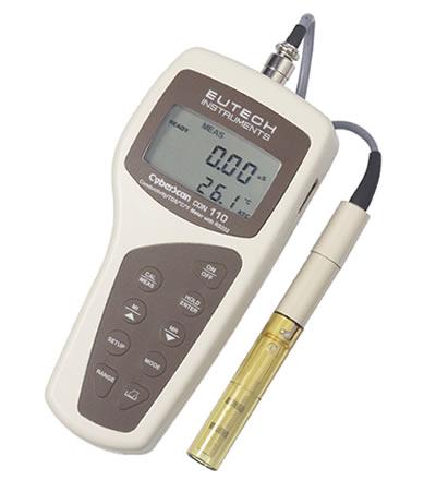 เครื่องวัดความนำไฟฟ้า  Conductivity Meter รุ่น CyberScan Con110