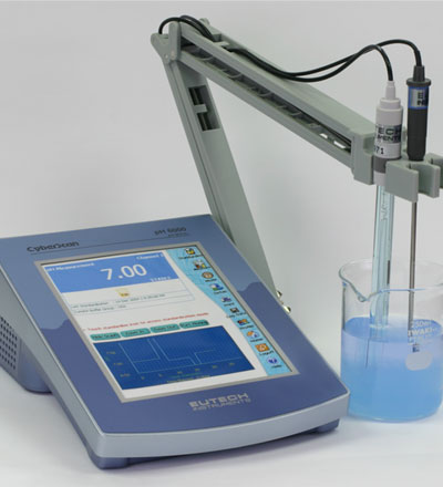 เครี่องวัดกรดด่าง pH Meter Eutech model CyberScan pH6000