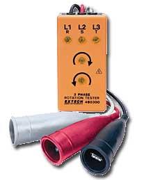 เครื่องมือวัดเฟส 3-Phase Rotation Tester 480300