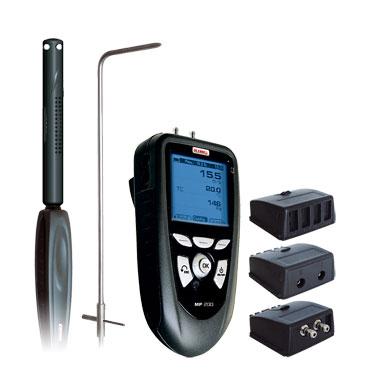 Pressure , Air Velocity , Air Flow, Temperature Meter MP200G