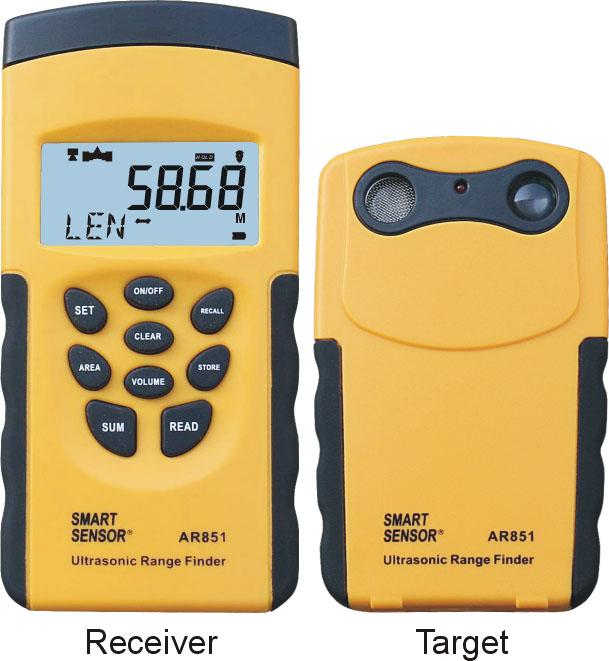 Distance Meter เครื่่องวัดระยะ เครื่องวัดพื้นที่ ปริมาตร AR851