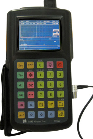 A-Scan Model TT500  ULTRASONIC THICKNESS GAUGE
