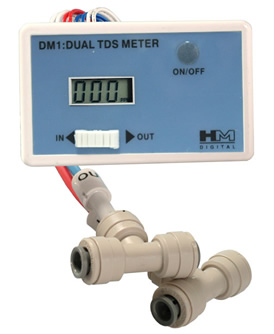 DM-1: In-Line Dual TDS Monitor