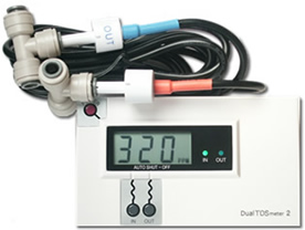 DM-2: Commercial In-Line Dual TDS Monitor
