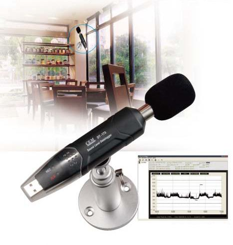 Datalogger Sound Level Meter DT-173