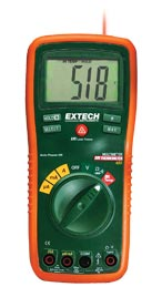 EX450: 8 Function Professional MultiMeter + InfraRed Thermomete