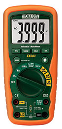 EX503: 10 Function Heavy Duty Industrial MultiMeter