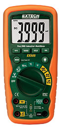 EX505: 11 Function Heavy Duty True RMS Industrial MultiMeter