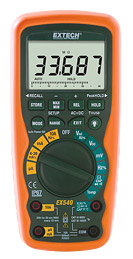 EX570: 12 Function True RMS Industrial MultiMeter with IR Therm