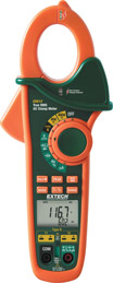 EX612: 400A Dual Input AC Clamp Meter + NCV