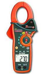 EX810: 1000A AC Clamp Meter with IR Thermometer