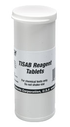 FL704: TISAB Fluoride Reagent Tablets Reagent tablets for use wi