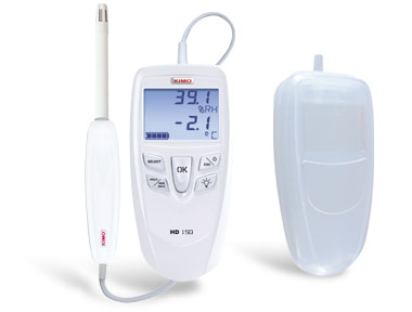 HD150S Humidity & Thermometer + Dew Point for food industry