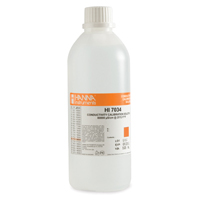 HI7034L 80000 µS/cm EC Solution, 500 mL Bottle