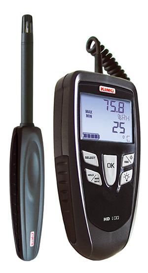 Humidity & Thermometer + Dew Point เทอร์โมมิเตอร์ ความชื้น HD100