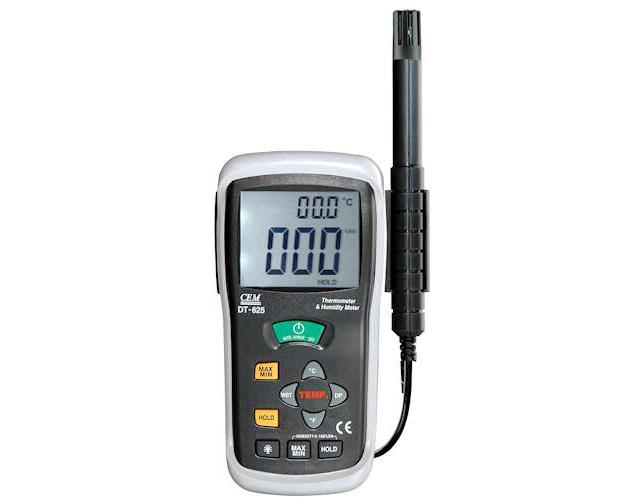 Humidity & Thermometer เทอร์โมมิเตอร์ ความชื้น DT-625