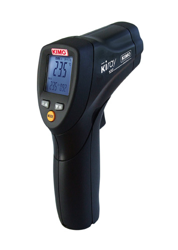 KIRAY100: Infrared Thermometer -50 to +800 C