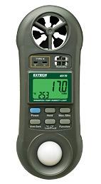 45170:Lux meter Light meter เครื่องวัดแสง 4 in1 Humidity, Temper