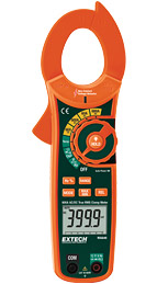 MA640: 600A True RMS AC/DC Clamp Meter + NCV