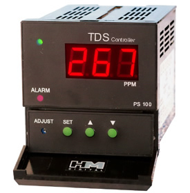 PS-100: Panel Mount TDS Controller