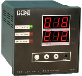 PS-202: Dual Display TDS Controller