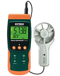 SDL300: Metal Vane Thermo-Anemometer/Datalogger