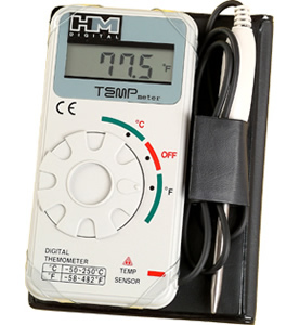 TM-1: Industrial-Grade Digital Thermometer