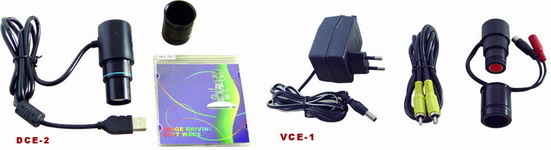 VCE-1 Video out Eyepieces สำหรับ MICROSCOPES กล้องจุลทรรศน์