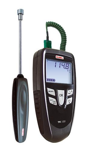 เครื่องวัดอุณหภูมิ เทอร์โมมิเตอร์ thermometer รุ่น TK100S (KIMO,