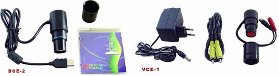 ชุดอุปกรณ์ และโปรแกรมวิเคราะห์ภาพ DCE-2 Digital Camera Eyepieces