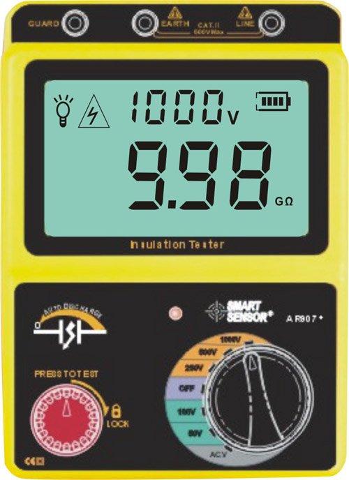 เครื่องทดสอบความต้านทานฉนวน High voltage insulation tester AR907