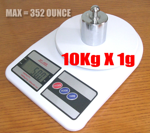 Digital Compact Scale เครื่องชั่งน้ำหนัก SF-400