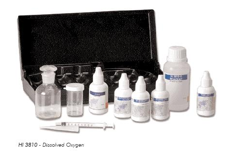 ชุดทดสอบออกซิเจน Dissolved Oxygen DO Meter HI3810