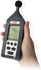 Time averaged sound level LAeq เครื่องวัดเสียง DB100