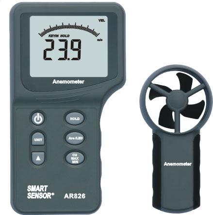 เครื่องวัดความเร็วลม AR826 Anemometer