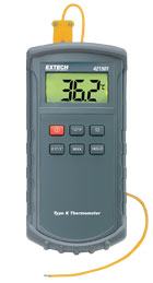 421501: Big Digit, Type K Single Input Thermometer