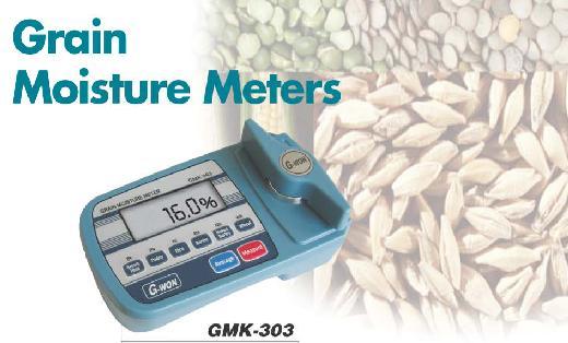 เครื่องวัดความชื้นในเมล็ดพืช Grain Moisture Meters GMK-303A